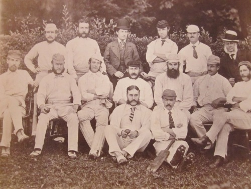 J Southerton 2nd from left center row (with a rather sinister looking WG Grace 2nd from right)